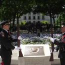 Memorial guards change arms prior to the Law Enforcement Memorial Ceremony Friday, May 18, 2012